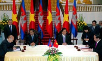 Estrechan Vietnam y Camboya cooperación integral