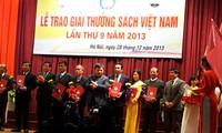 Honran 100 obras ganadoras en concurso de libros vietnamitas de 2013
