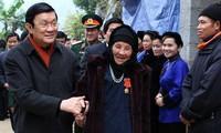 Concluye presidente de Vietnam gira por localidades septentrionales