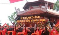 Edificado templo en honor del exlíder partidista