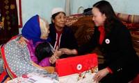 Esfuerzos comunes por compatriotas necesitados en ocasión del Tet 2014