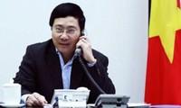 Intercambian dirigentes de Vietnam y China mensajes de felicitación por el Tet 2014