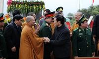 Presidente Truong Tan Sang felicita a sectores populares en Ciudad Ho Chi Minh