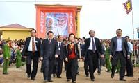 """Celebran fiesta milenaria de """"tịch điền"""", por el inicio de los cultivos del año"""