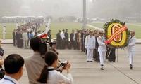 Más de 39 mil visitas al mausoleo Ho Chi Minh durante el Tet