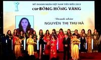 Premian 100 empresarias vietnamitas más destacadas de 2013