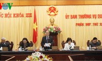 Inauguran sesión 26 de Comité Permanente de Parlamento vietnamita