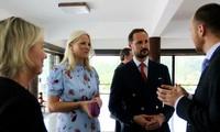 Príncipe noruego culmina visita en Vietnam