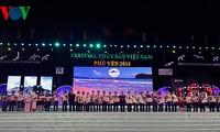 Concluye Festival Acuático de Vietnam 2014 en Phu Yen