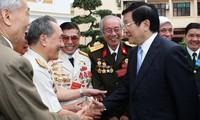 Presidente de Vietnam visita a exprisioneros de la provincia de Vinh Phuc