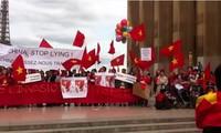 Comunidad vietnamita en ultramar sigue condenando la violación china
