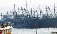 Barcos pesqueros de China penetran en aguas surcoreanas