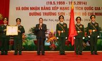 Aniversario 55 de apertura de la ruta Ho Chi Minh