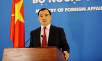 Vietnam persiste en solucionar discrepancia territorial con China por vía pacífica