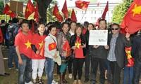 Comunidad vietnamita en ultramar continúa con protestas contra violación china