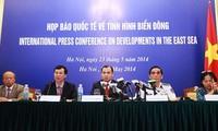 Tercera conferencia de prensa internacional de de Vietnam sobre disputas con China en Mar Oriental
