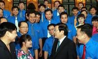 Presidente vietnamita estimula el aporte de los jóvenes a la construcción nacional