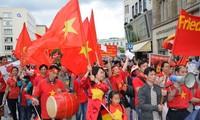 Vietnamitas en Alemania marchan en protesta contra acciones chinas en Mar Oriental