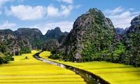 La belleza del conjunto paisajístico de Tràng An