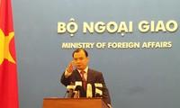 Vietnam persiste en los medios pacíficos para resolver las tensiones en el Mar Oriental