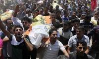 Denuncia el presidente palestino el crimen de Israel en la Franja de Gaza