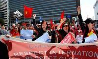 Comunidad vietnamita en ultramar sigue con el rechazo a la infracción china en Mar Oriental