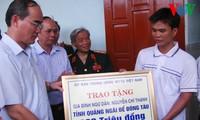 Presidente del Frente de la Patria visita distrito insular de Ly Son