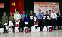 Actividades de gratitud a inválidos de guerra y mártires de Vietnam