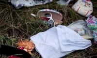 Entregan a Holanda objetos personales de pasajeros del avión MH17