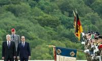 Conmemoran Alemania y Francia centenario de Primera Guerra Mundial