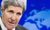 John Kerry se esfuerza por impulsar acuerdo de paz en Oriente Medio