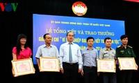 """La Voz de Vietnam gana 9 premios periodísticos en concurso: """"Por la unidad nacional"""""""