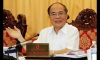 Presidente del Parlamento de Vietnam asiste a AIPA 35 en Laos