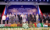Afirma Asamblea Interparlamentaria de ASEAN su papel en futura Comunidad regional