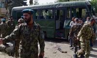 Fuerzas de seguridad afganas repelen ataque de los talibanes