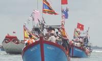Espectacular festejo de los pescadores en Can Gio, Ciudad Ho Chi Minh