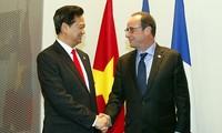 Primer ministro vietnamita sostiene reuniones bilaterales en Milán
