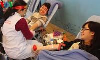 Celebran Festival de voluntarios de donación de sangre en Hanoi
