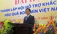 Fundan Asociación de asistencia para superar secuelas de explosivos en Vietnam