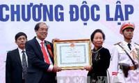 Vice mandataria asiste a la conmemoración de fundación de Universidad Silvícola