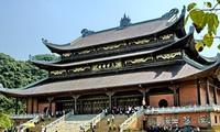 Conjunto de pagodas Bai Dinh-sitio de turismo espiritual de Ninh Binh