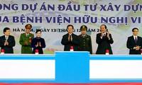 Coloca Primer ministro de Vietnam primera piedra de dos centros médicos