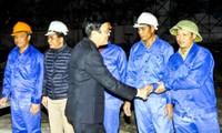 Presidente vietnamita realiza visita de trabajo a Tuyen Quang