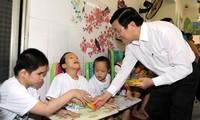 Estadista vietnamita felicitó al pueblo del distrito Cu Chi