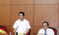 Sesiona viceprimer ministro vietnamita con autoridades de Dac Nong