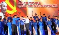 Celebra aniversario 84 de la Unión de Jóvenes Comunistas