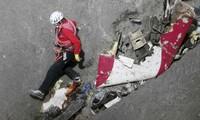 Confirman 78 muestras de ADN de los restos en el accidente del avión Airbus 320 en Francia