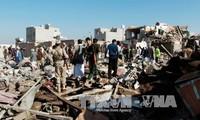 Coalición árabe continúa bombardeos contra fuerzas yihadistas Houthi en Yemen