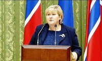 La primera ministra noruega visitará esta semana Vietnam