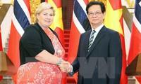 Declaración conjunta de Vietnam y Noruega
